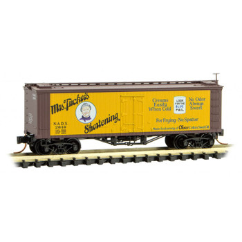 Micro Trains 518 00 760 Z Scale Farm To Table Boxcar #6 Mrs. Tuckers Shortening
