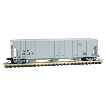 Micro Trains 099 00 220 N Scale Union Pacific  3 Bay Covered Hopper Road #23249