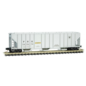 Micro Trains 099 00 101 N Scale Pennsylvania RR 3 Bay Covered Hopper Road #260670