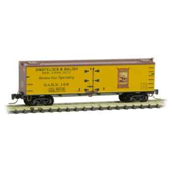 Micro Trains 518 00 770 Z Scale Farm to Table Boxcar #7 Dingfelder & Balish