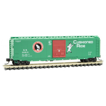 Micro Train 031 00 530 N Scale Great Northern 50' Boxcar Road #39651