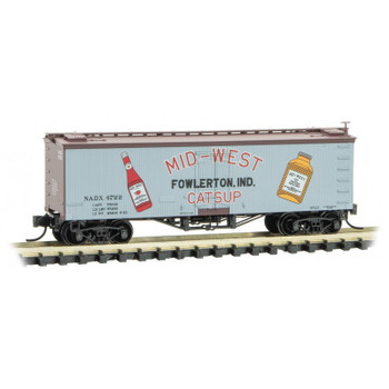Micro Trains 058 00 480 N Scale Farm To Table Boxcar #8 Mid West Catsup