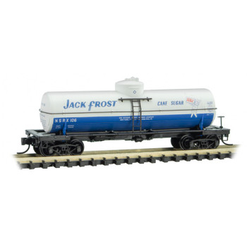 Micro Trains 065 00 980 N Scale Jack Frost Tank Car Road #106