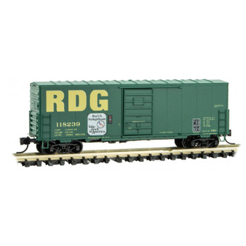 Micro Trains 024 00 420 N Scale Reading 40' Boxcar Road# 118239