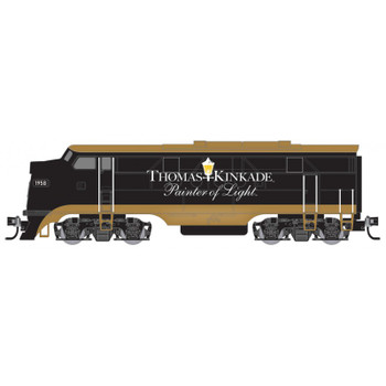 Micro Trains 987 01 808 Thomas Kinkade N Scale Engine FT Locomotive