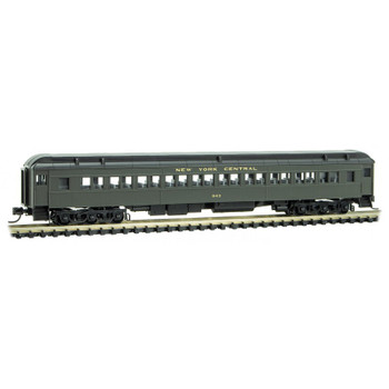 Micro Trains 145 00 110 N Scale New York Central Paired Window Coach Passenger Car