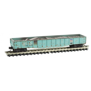 Micro Trains 993 01 890 N Scale Weathered Union Pacific Tie Loader Gondola 3-Pack