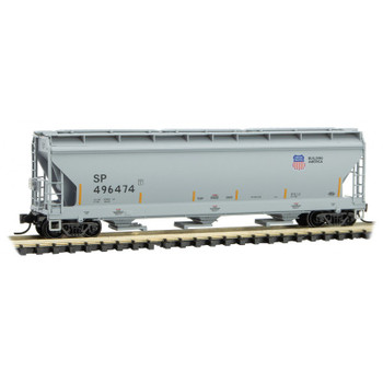 Micro Trains 094 00 601 N Scale UP Union Pacific 3 Bay Covered Hopper
