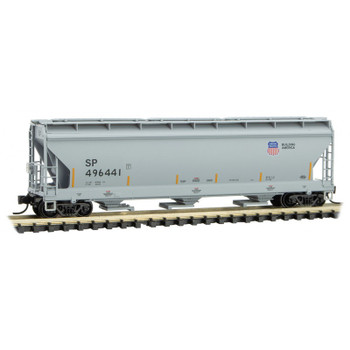 Micro Trains 094 00 602 N Scale UP Union Pacific 3 Bay Covered Hopper