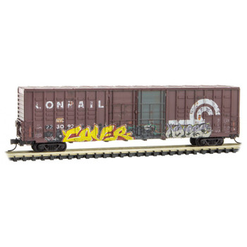 Micro Trains 103 44 150 N Scale  Conrail Ex-NYC Graffiti Boxcar Road #223092