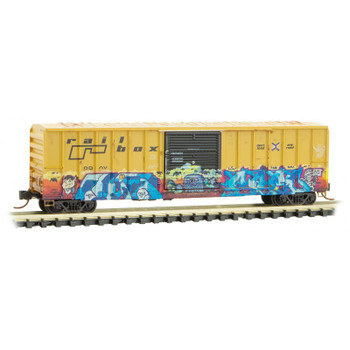 Micro Trains 025 44 569 N Scale Railbox Series 2 Car 4 National Garlic Day