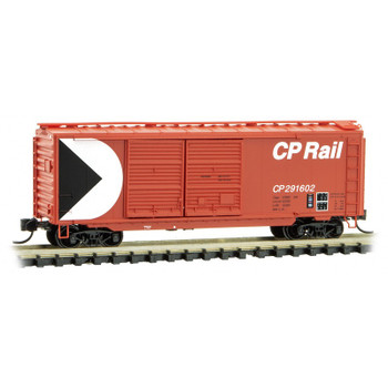 Micro Trains 023 00 420 N Scale Canadian Pacific CP 40' Boxcar Road #291602