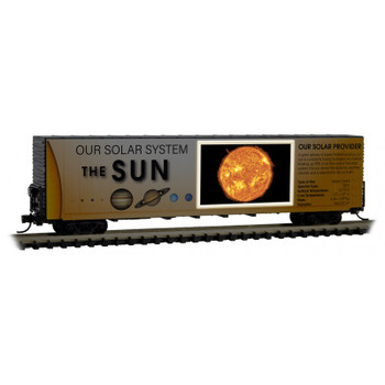 Micro Trains 102 00 830 N Scale Solar System Series Lit Version Car 1 The Sun Orbital Center
