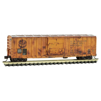 Micro Trains 025 44 186 N Scale Weathered Boxcar New Orleans Public Belt Railroad