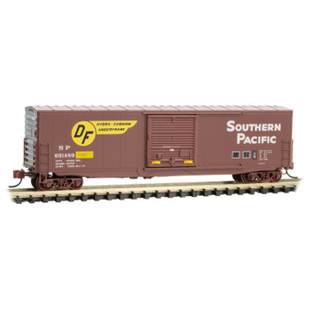 Micro Trains 180 00 172 N Scale Southern Pacific Boxcar Road #651489