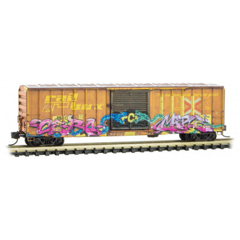 Micro Trains 025 45 012 N Scale Railbox Weathered National Pick Your Poison Day Car 6