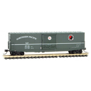 Micro Trains 180 00 180 N Scale Northern Pacific NP 50' Boxcar Single Door