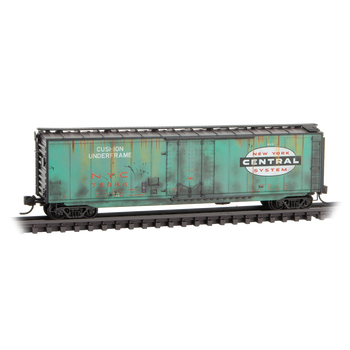 Micro Trains 032 44 530 N Scale NYC New York Central Weathered Boxcar