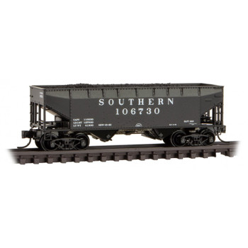 Micro Train N Scale 055 00 590 Southern Hopper Car With Load