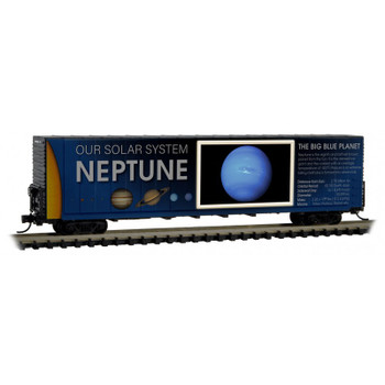 Micro Trains 10200838 N Scale Solar System Series Car 8 Lit Neptune The Big Blue Planet