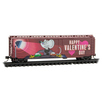 Micro Trains 032 00 540 N Scale Valentines Day Micro Mouse Box Car