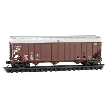 Micro Trains 108 00 410 N Scale Conrail 3 Bay Hopper With Cover