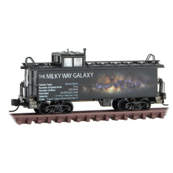 Micro Trains 100 00 810 N Scale Solar System Caboose The Milky Way Galaxy