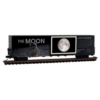 Micro Trains 102 00 840 N Scale Solar System Series Car The Moon Lit Version