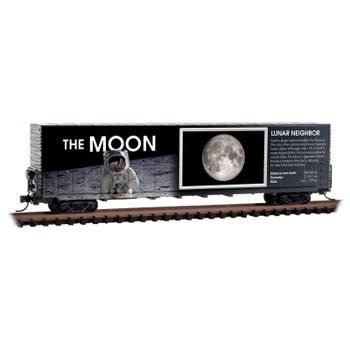 Micro Trains 102 02 840 N Scale Solar System Series Car The Moon Non Lit Version