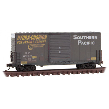 Micro Trains 101 44 060 N Scale Southern Pacific SP Weathered 40' HY Cube Box Car