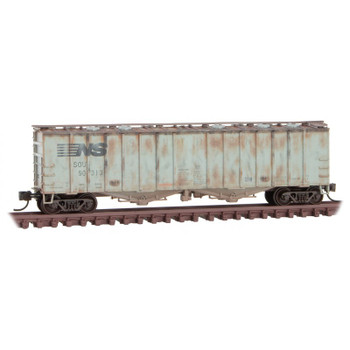 Micro Trains 993 05 830 N Scale Weathered Norfolk Southern Ex SOU Box Car 3 Pack
