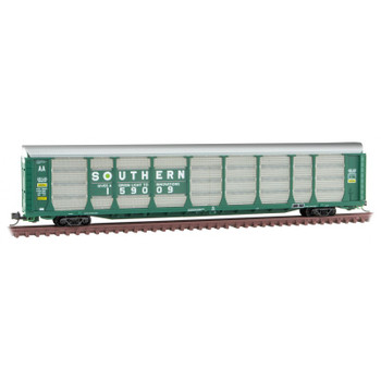 Micro Trains 111 00 091 N Scale Southern Autorack Road Number 159009