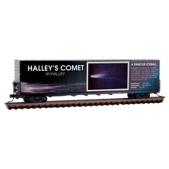 Micro Trains 102 02 842 N Scale Solar System Series Non Lit Halley's Comet Boxcar