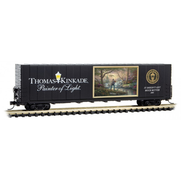 Micro Trains 102 00 806 N Scale Thomas Kinkade Boxcar 6 It Doesn't Get Much Better