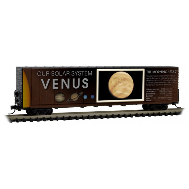 Micro Trains 102 00 832 N Scale Solar System Series Car 3 Lit Version  Venus-The Morning Star