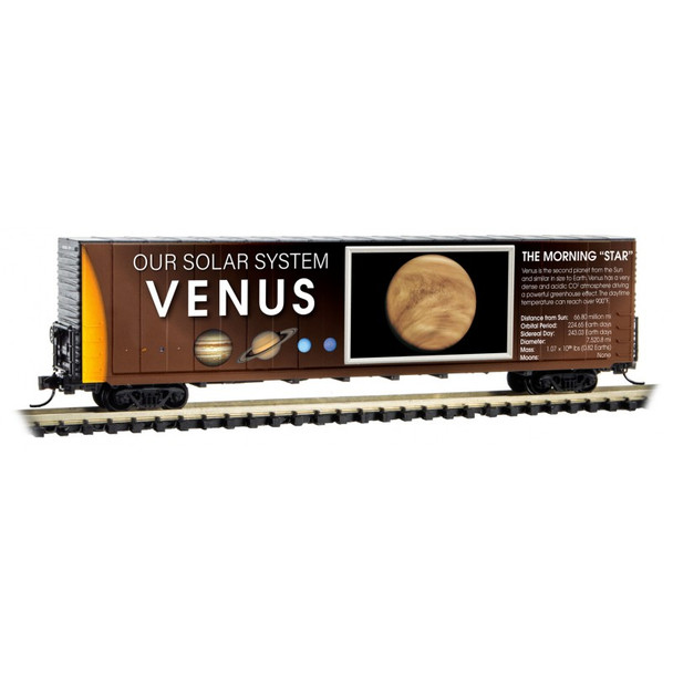 Micro Trains 102 02 832 N Scale Solar System Car 3 Non  Lit Venus The Morning Star