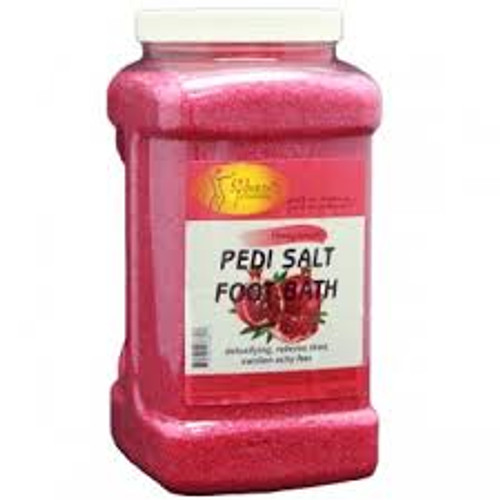 Pedi Bath Fine Salt  (Gallon) Mint & Eucalyptus