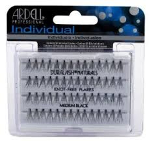 Ardell Individual Lashes (Knot-Free Flare) Medium Black