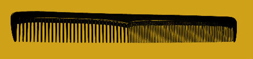 "Brittny 7"" Styling Comb 12pk"