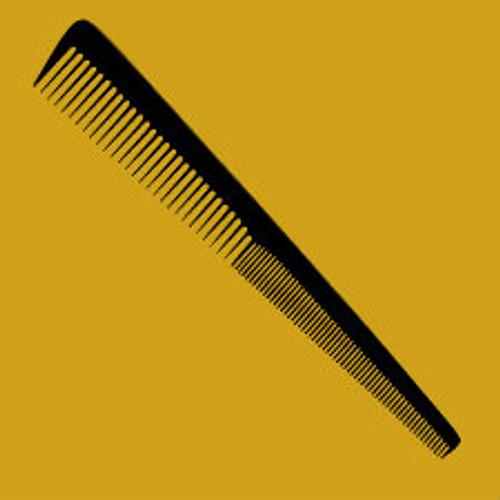 """Brittny 7"""" Barber Comb 12pk (Black)"""