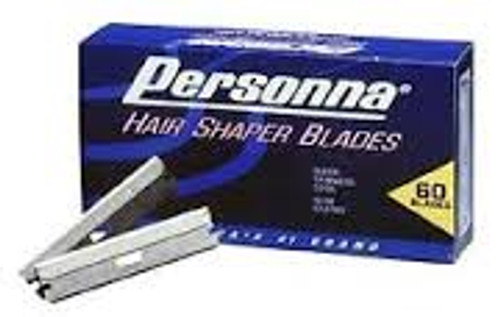 Personna Hair Shaper Blades (60 Blade case)