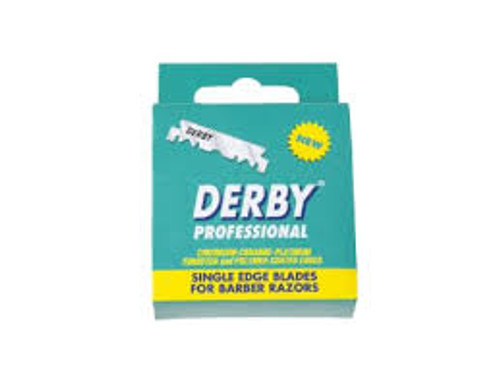Derby Professional Single Edge Blades (100 Blade Box)