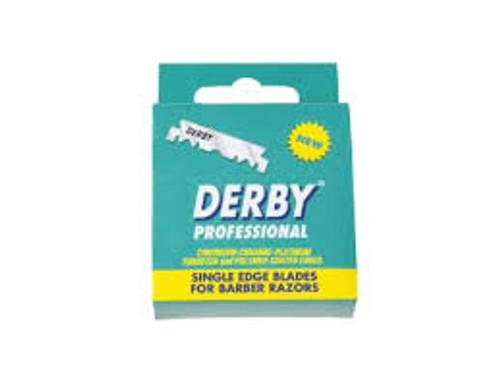 Derby Professional Single Edge Blades (100 Blade Box)