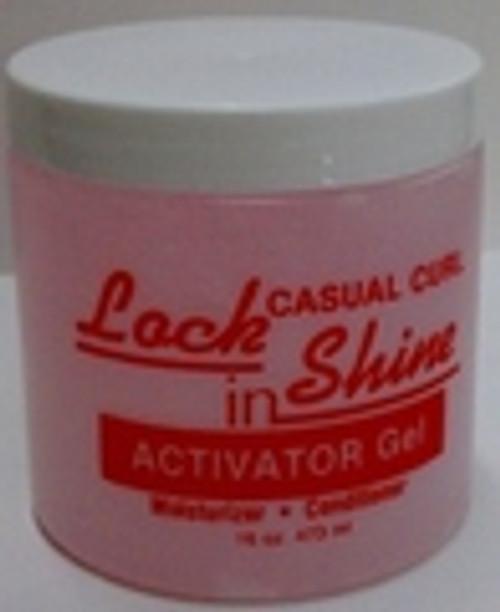 Lock In Shine Activator Gel 16oz.