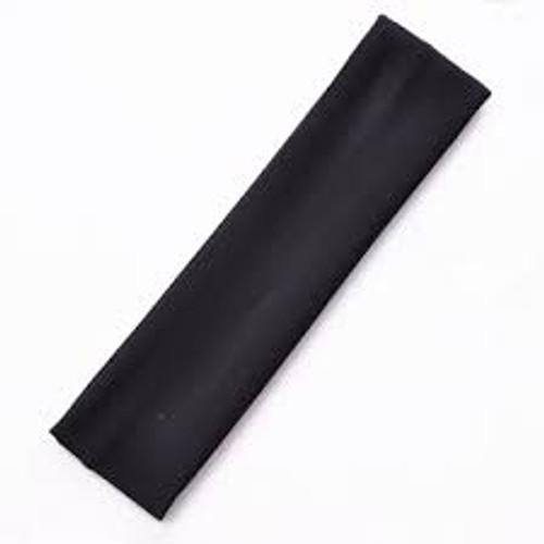 Headband Elastic Black Thick