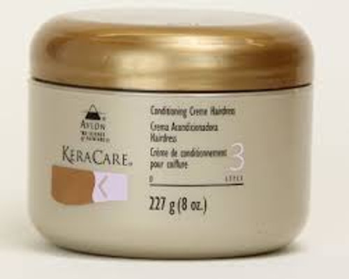 KeraCare Conditioning Creme Hairdress 4oz.