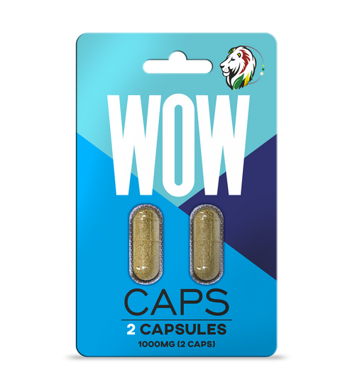2-Pack of WOW! Kratom Extract Mood Capsules