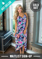 Something In the Way You Move Floral Maxi