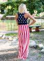 Freedom Tank Maxi Dress