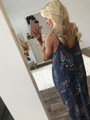 Just For the Weekend Floral Maxi Navy